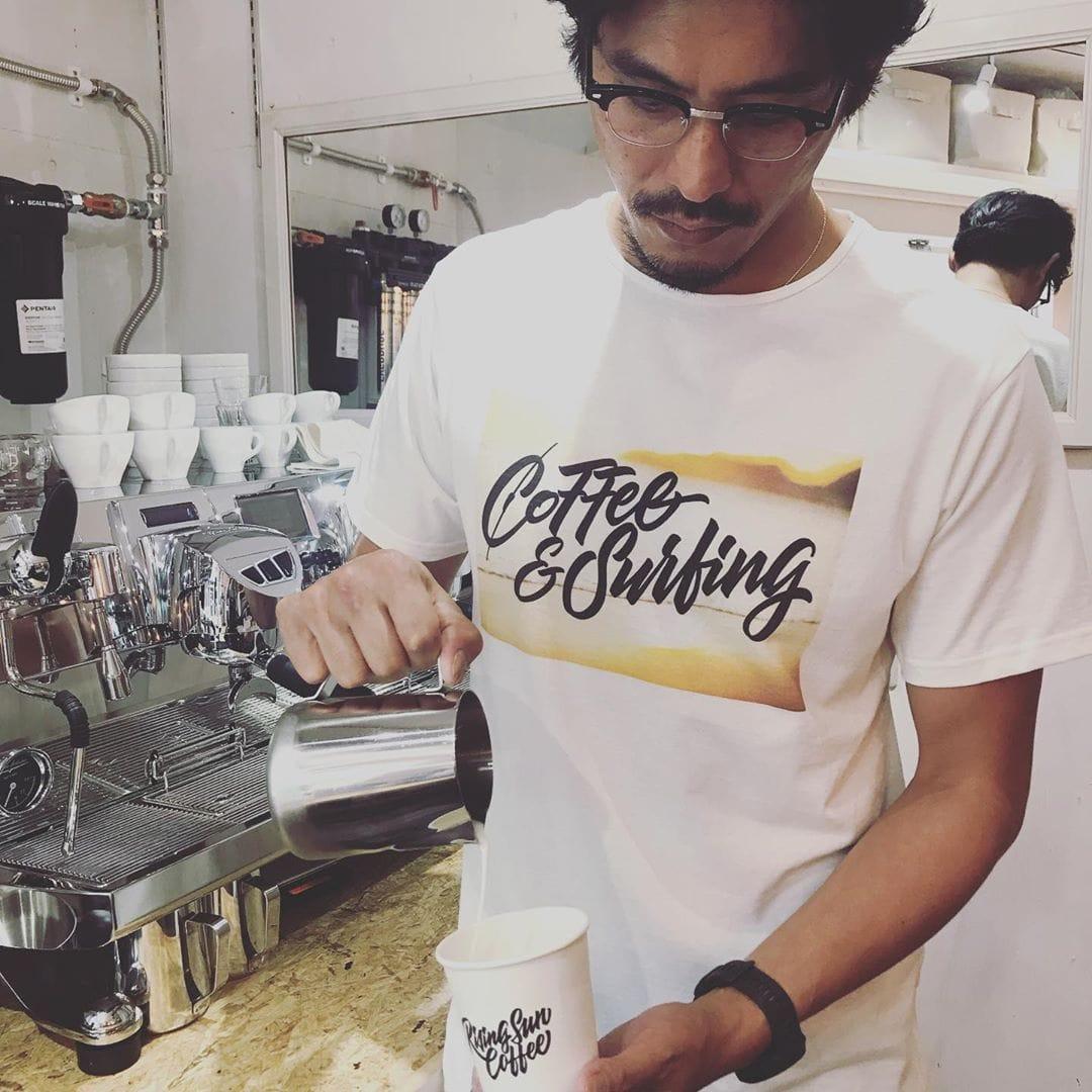坂口憲二が手掛ける絶品コーヒー「ザ・ライジングサンコーヒー」