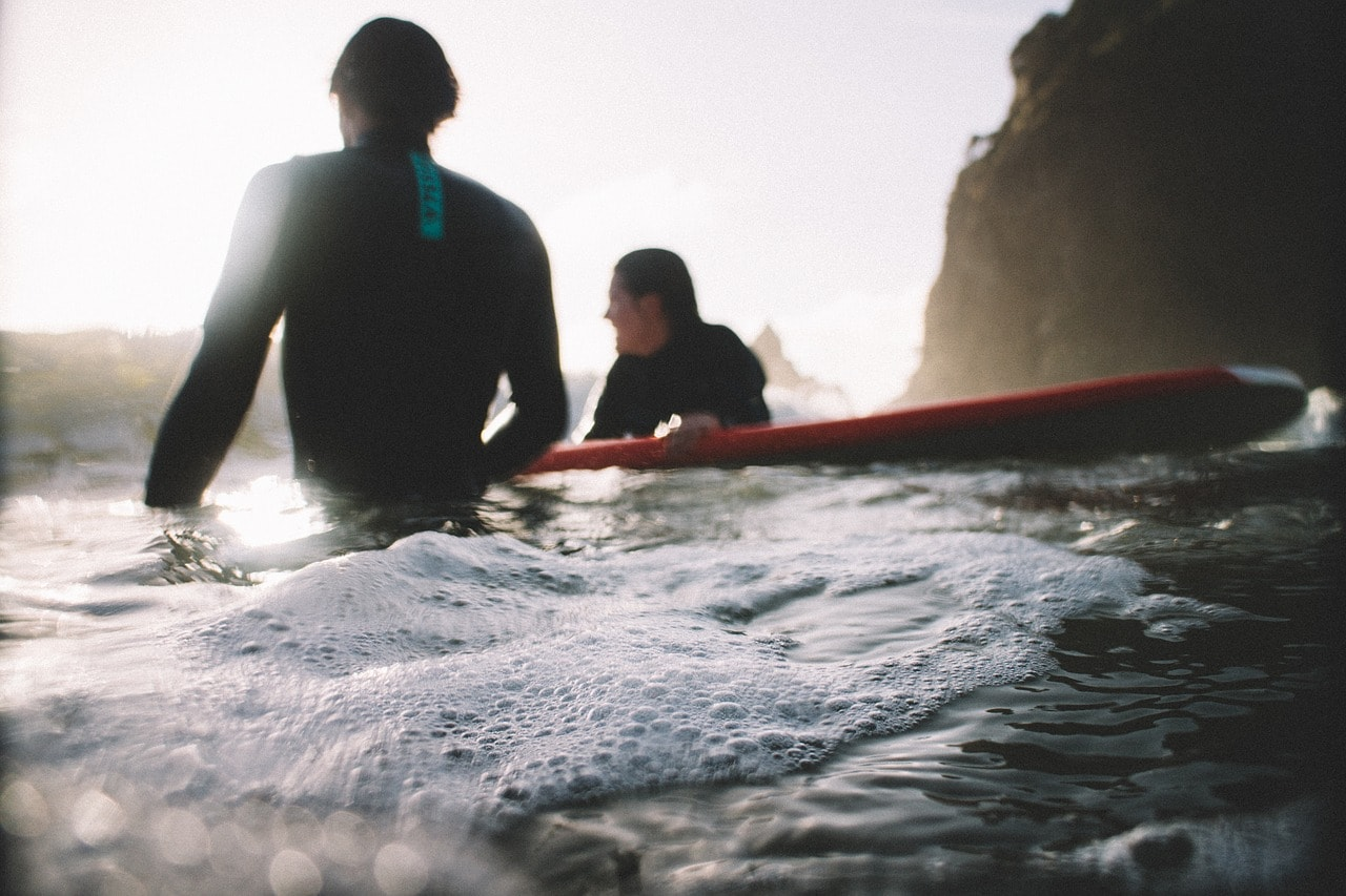冬のサーフィンはどれくらい寒い?水温別ウエットスーツ選び