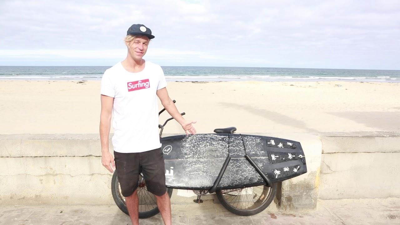 サーフィン×自転車は魅力でいっぱい!サーフボードキャリアのススメ